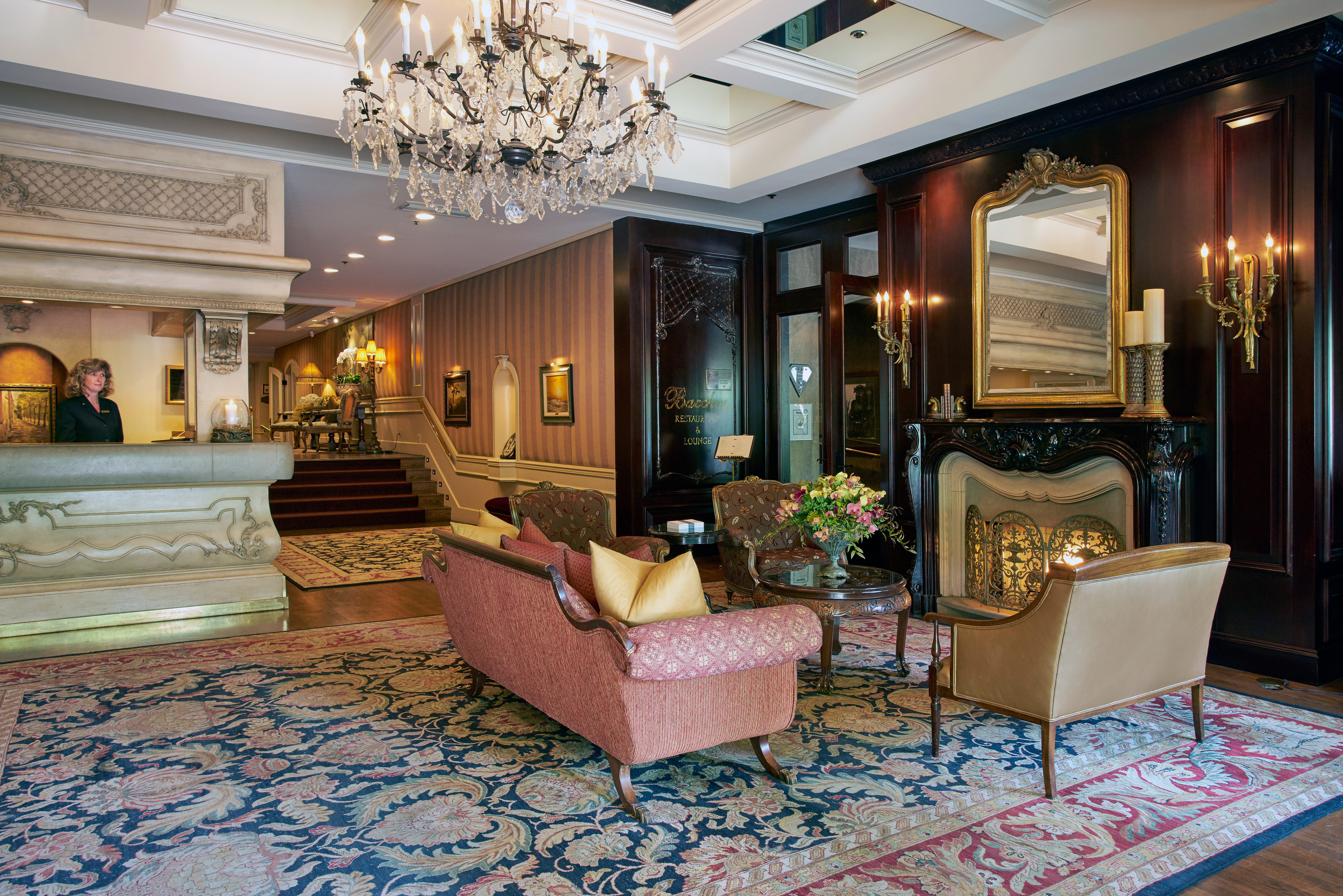 Elegant Historic Lobby Lounge Luxury property living room home mansion Suite condominium Villa