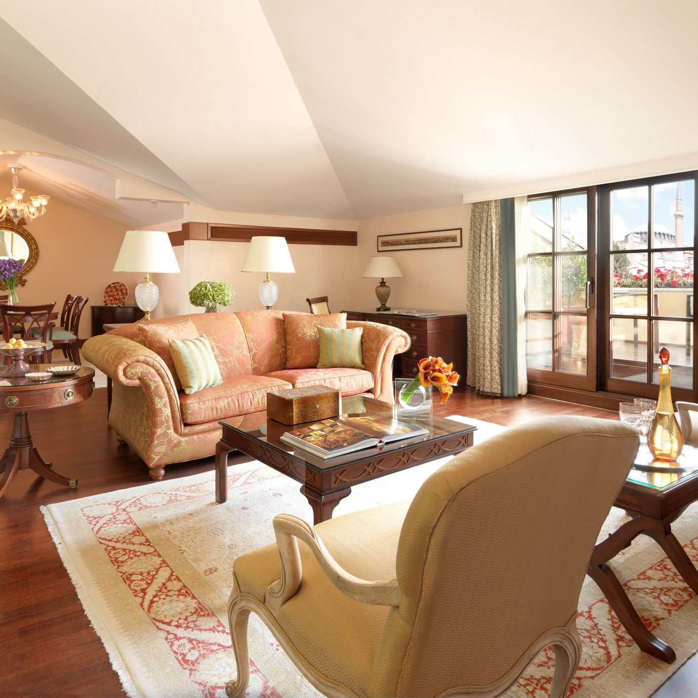 Elegant Historic Lounge Luxury living room property home Suite condominium Villa nice flat