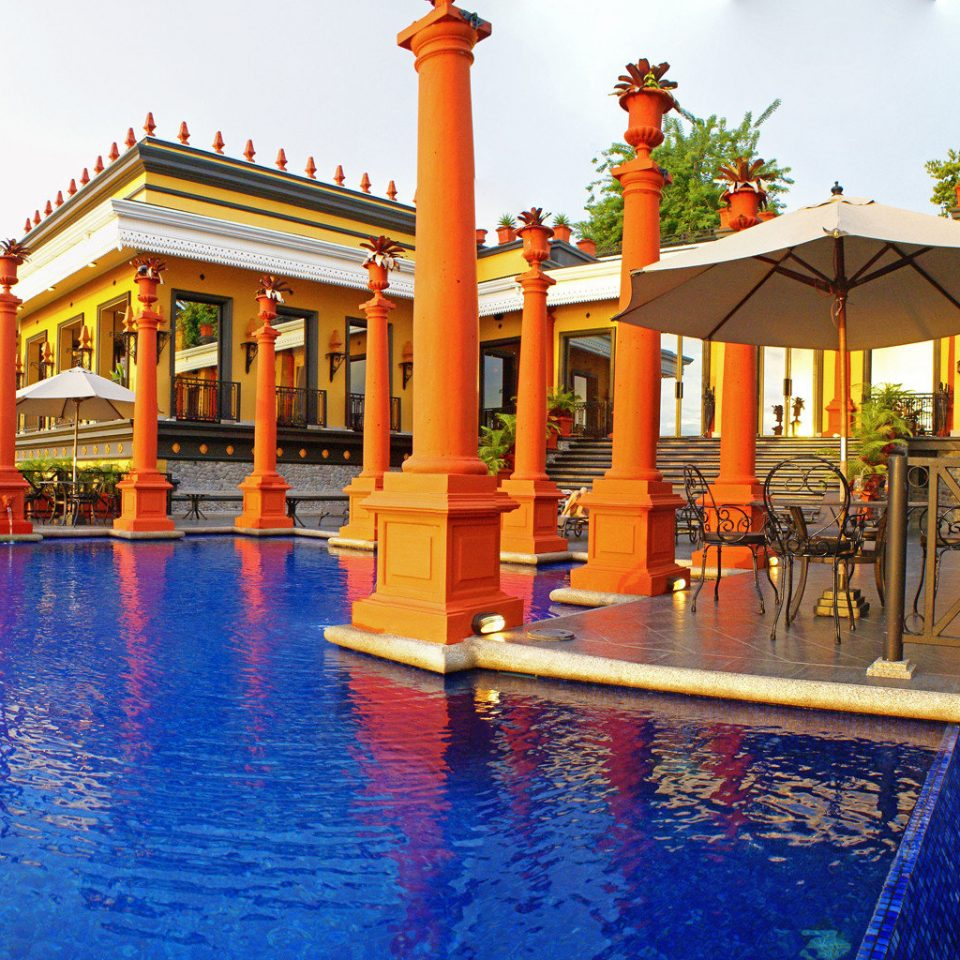 Elegant Historic Luxury Modern Penthouse Pool Scenic views leisure building Resort resort town swimming pool palace amusement park colorful colored swimming