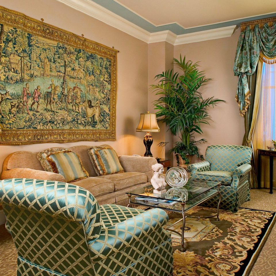 Elegant Historic Resort living room chair property home cottage Suite condominium Villa