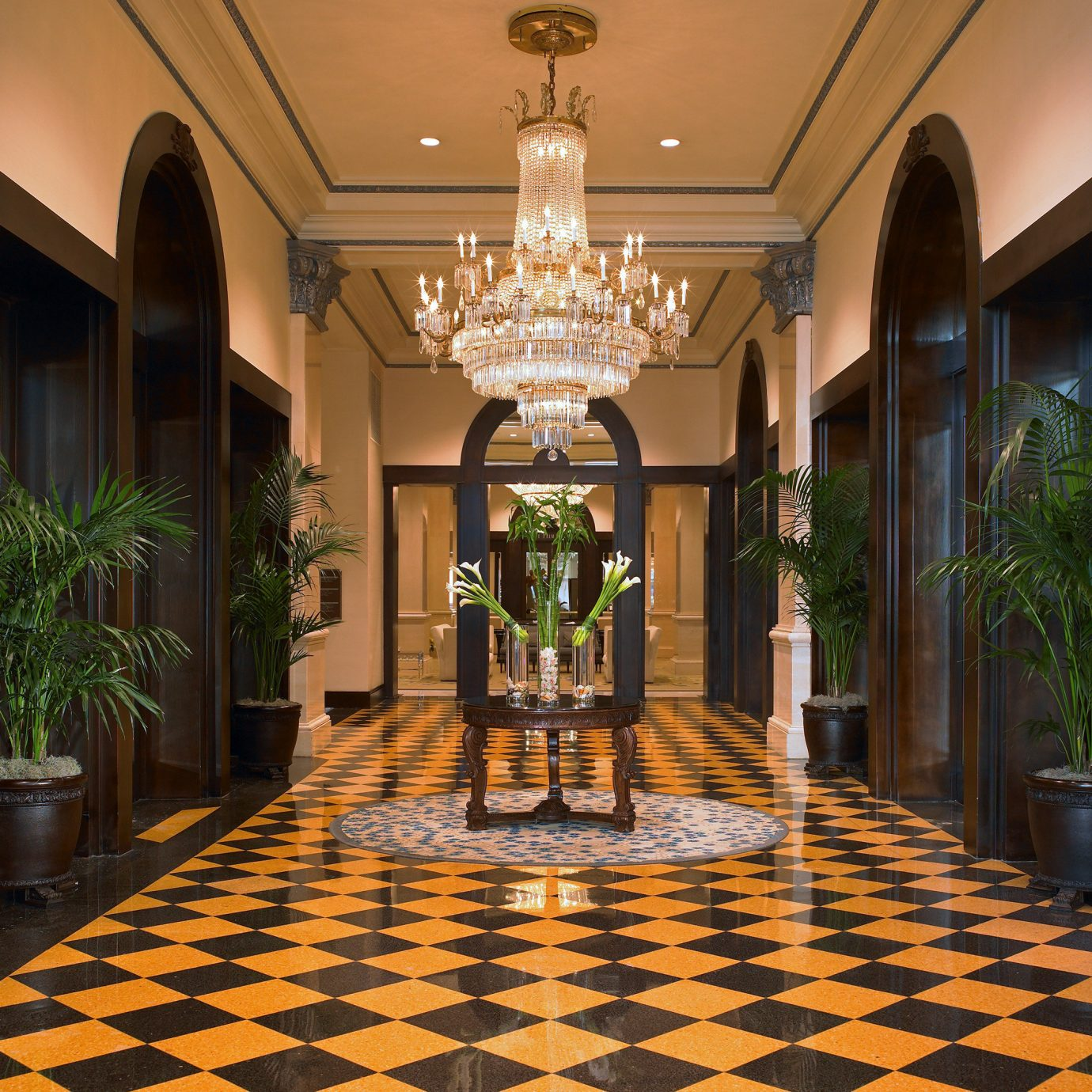 Elegant Hotels Lobby Lounge property building mansion palace home flooring hall living room condominium ballroom Resort