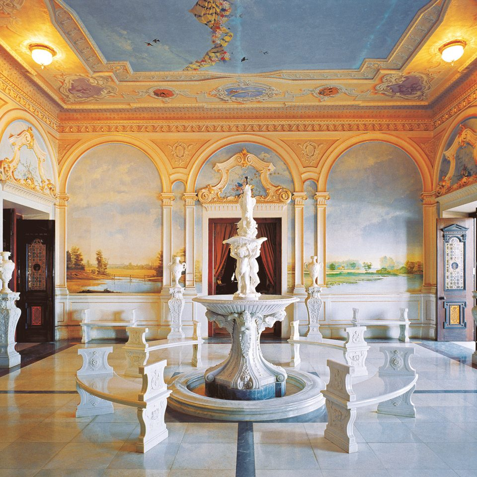 Elegant Hotels Luxury Lobby building palace mansion tourist attraction ballroom art gallery colonnade