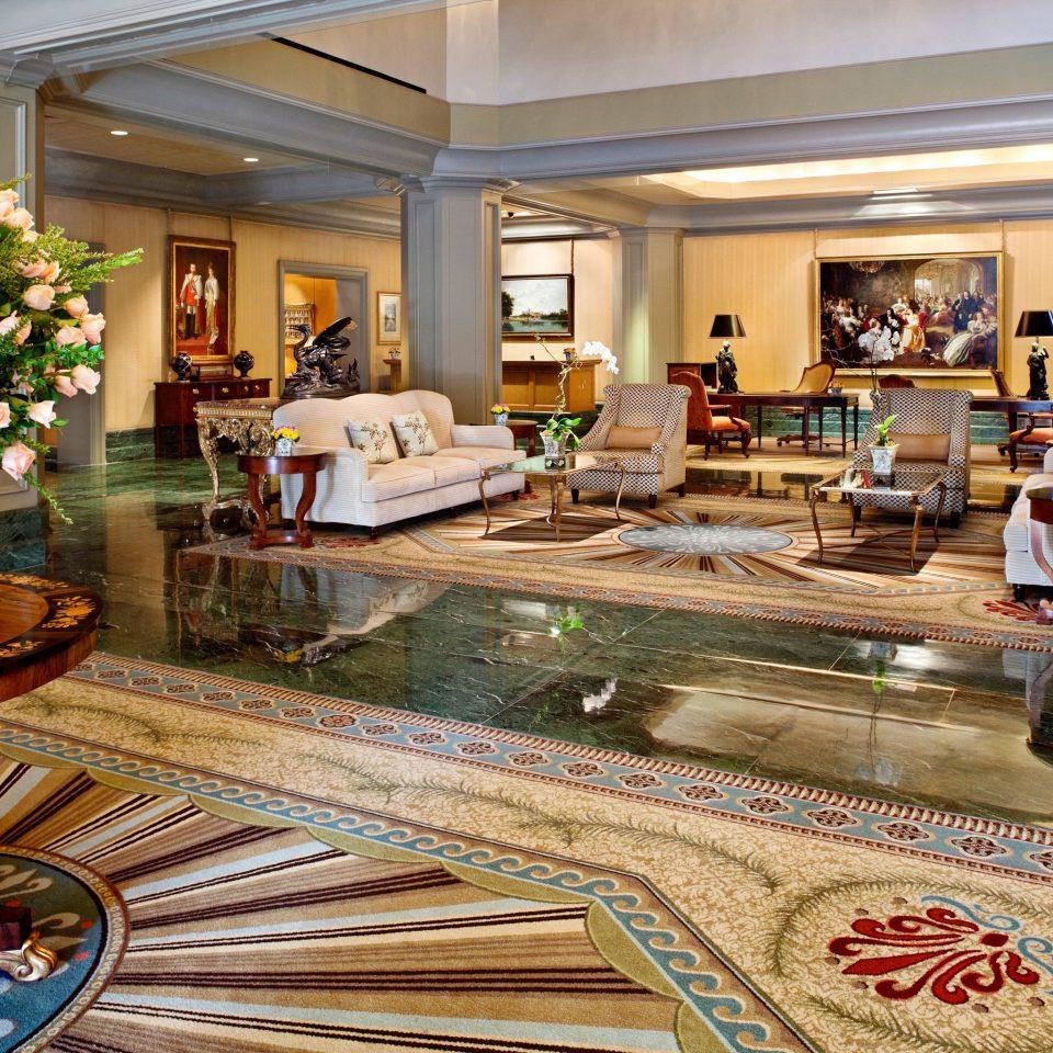 Elegant Hotels Lobby property home Resort living room mansion flooring palace