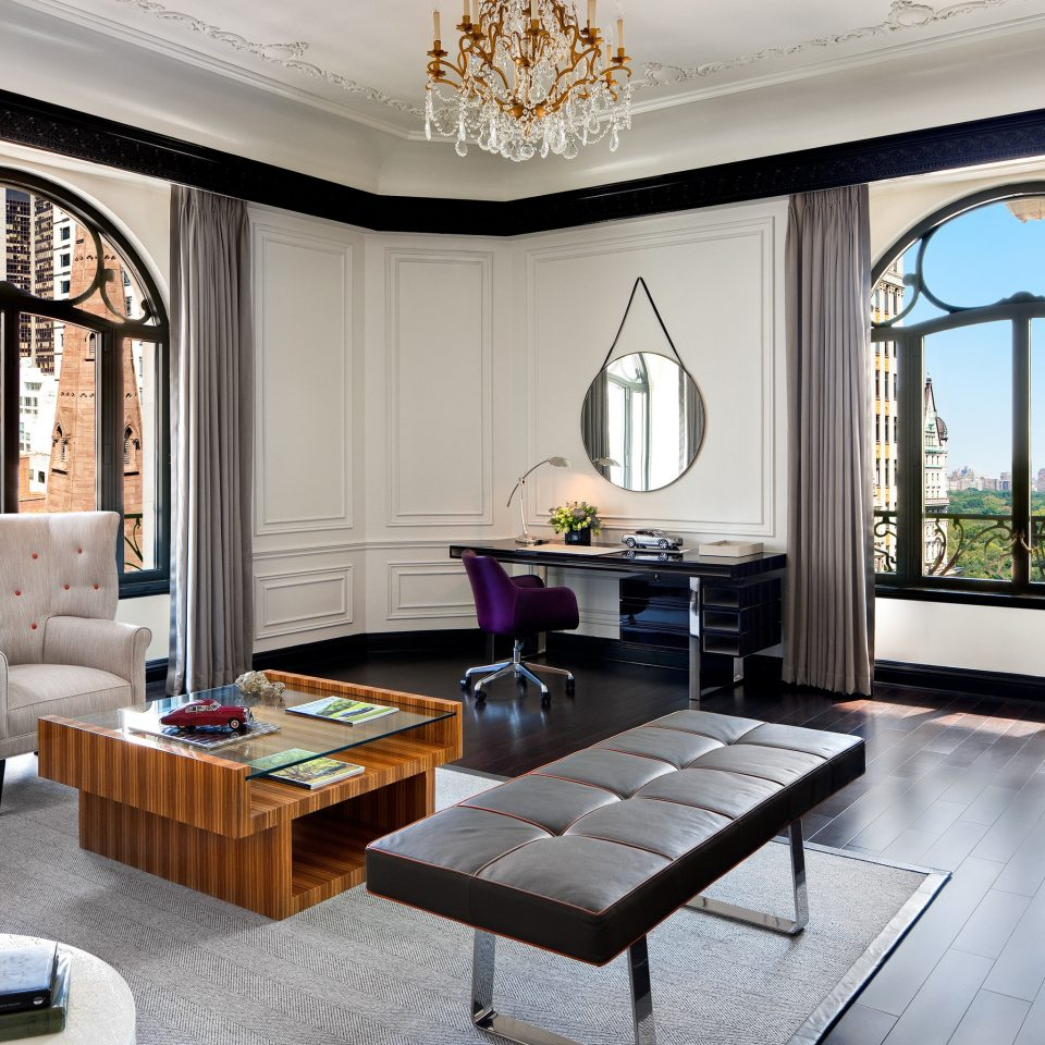Elegant Hotels Lounge Luxury NYC living room property home hardwood Suite mansion condominium Villa cottage Modern