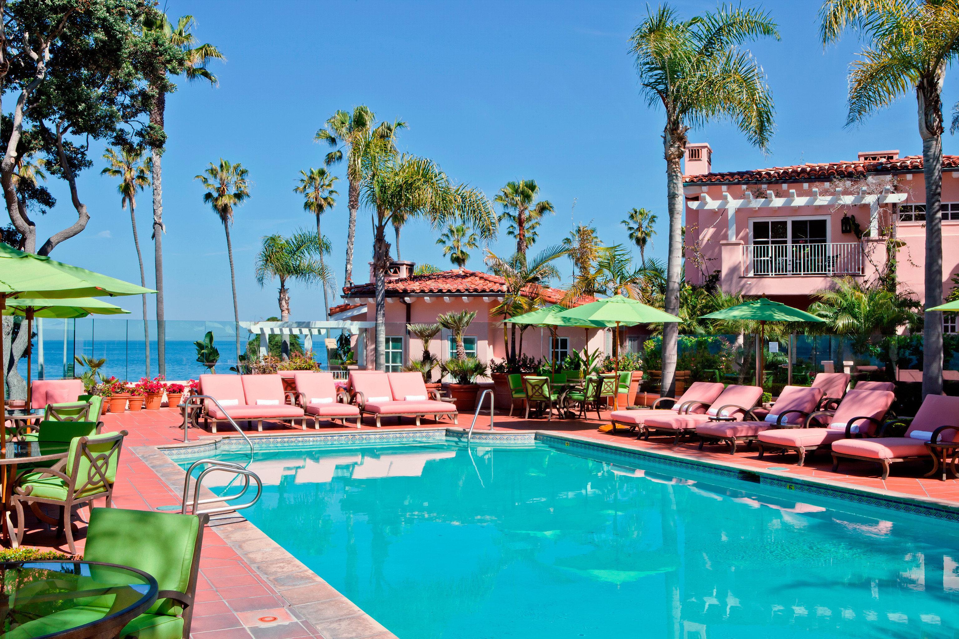 Elegant Hotels Luxury Patio Pool Trip Ideas Tropical tree sky swimming pool leisure Resort property resort town Villa palace amusement park swimming