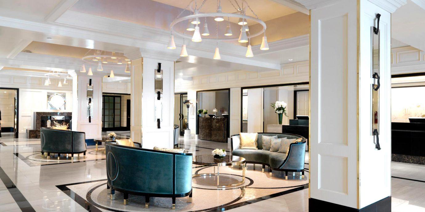 Elegant Lobby Lounge property living room condominium home Modern Island