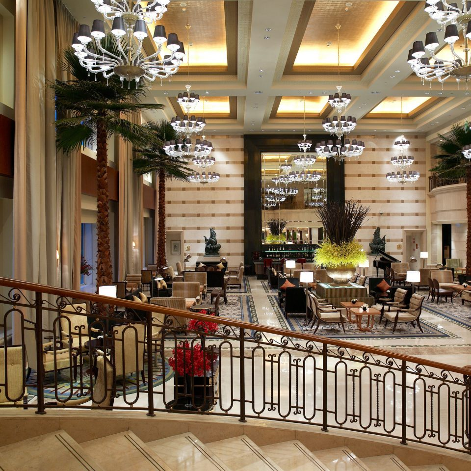 Elegant Lounge Lobby building shopping mall plaza retail