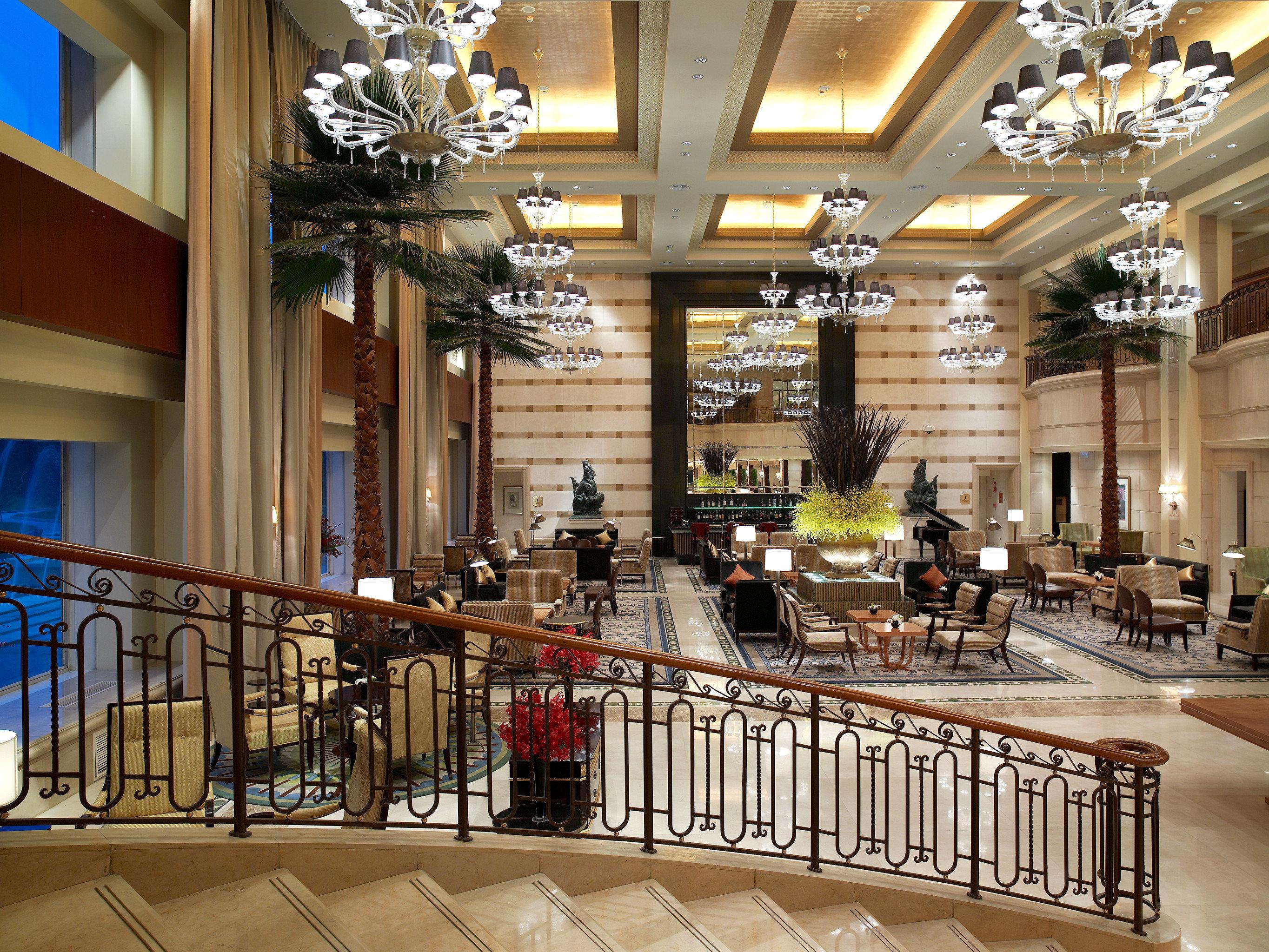 Elegant Lounge Lobby building shopping mall plaza retail