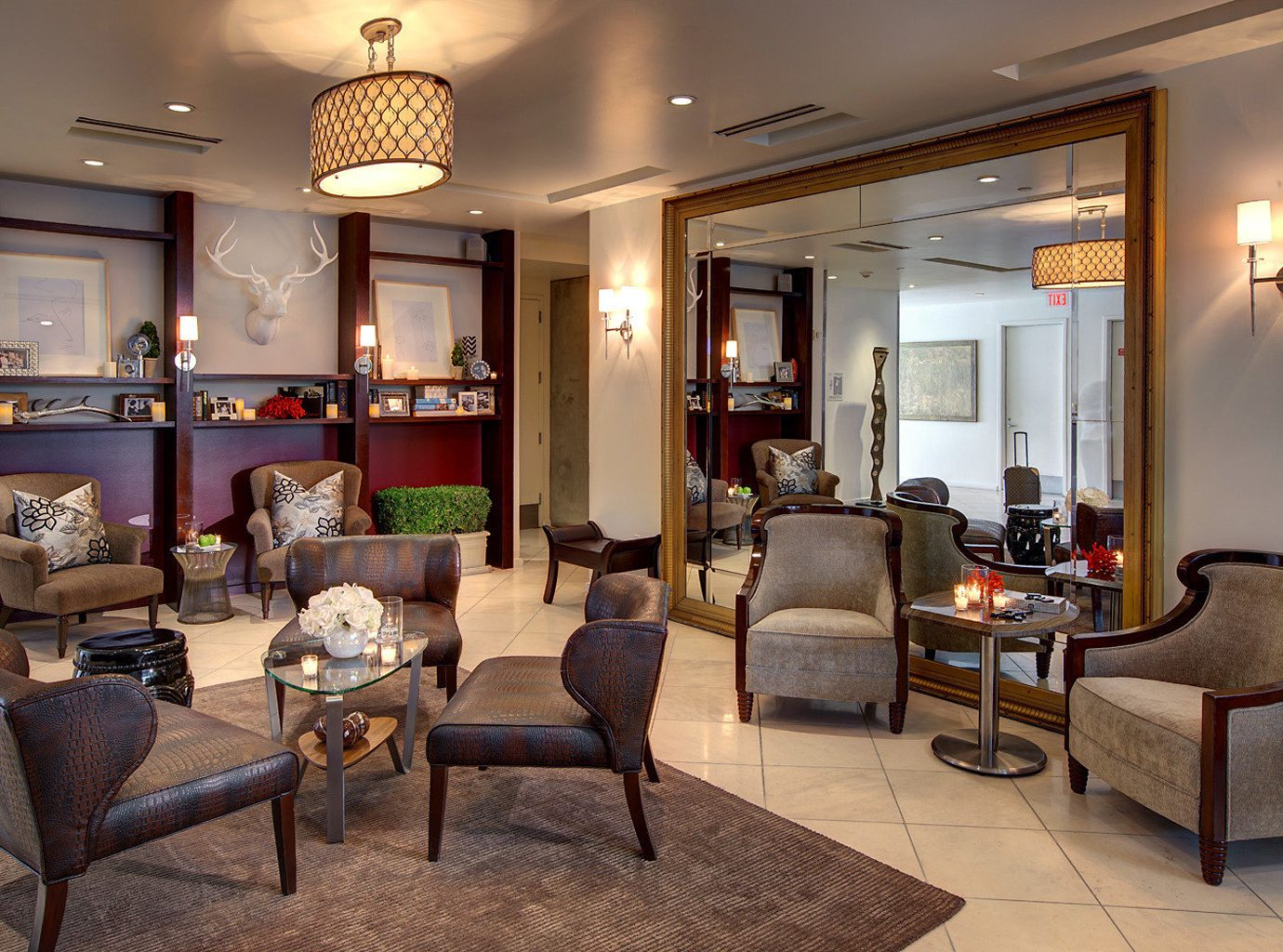Elegant Lounge Luxury property living room home Lobby Suite condominium Villa