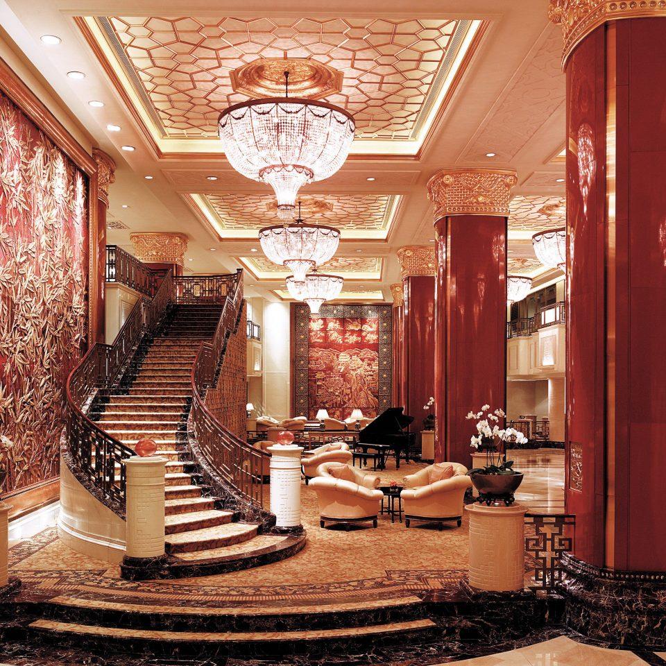 Elegant Lobby Lounge Luxury mansion home living room palace flooring ballroom