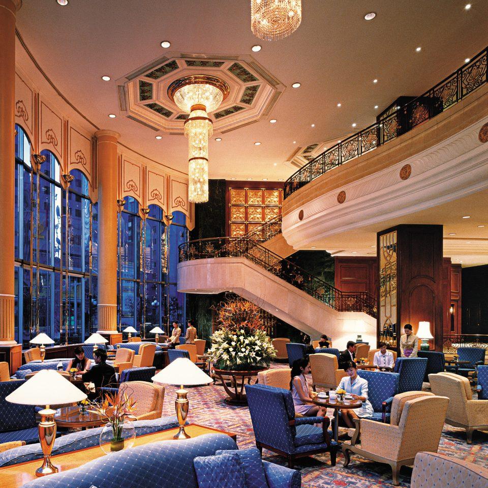 Elegant Lobby Lounge Luxury Scenic views living room restaurant home function hall seat