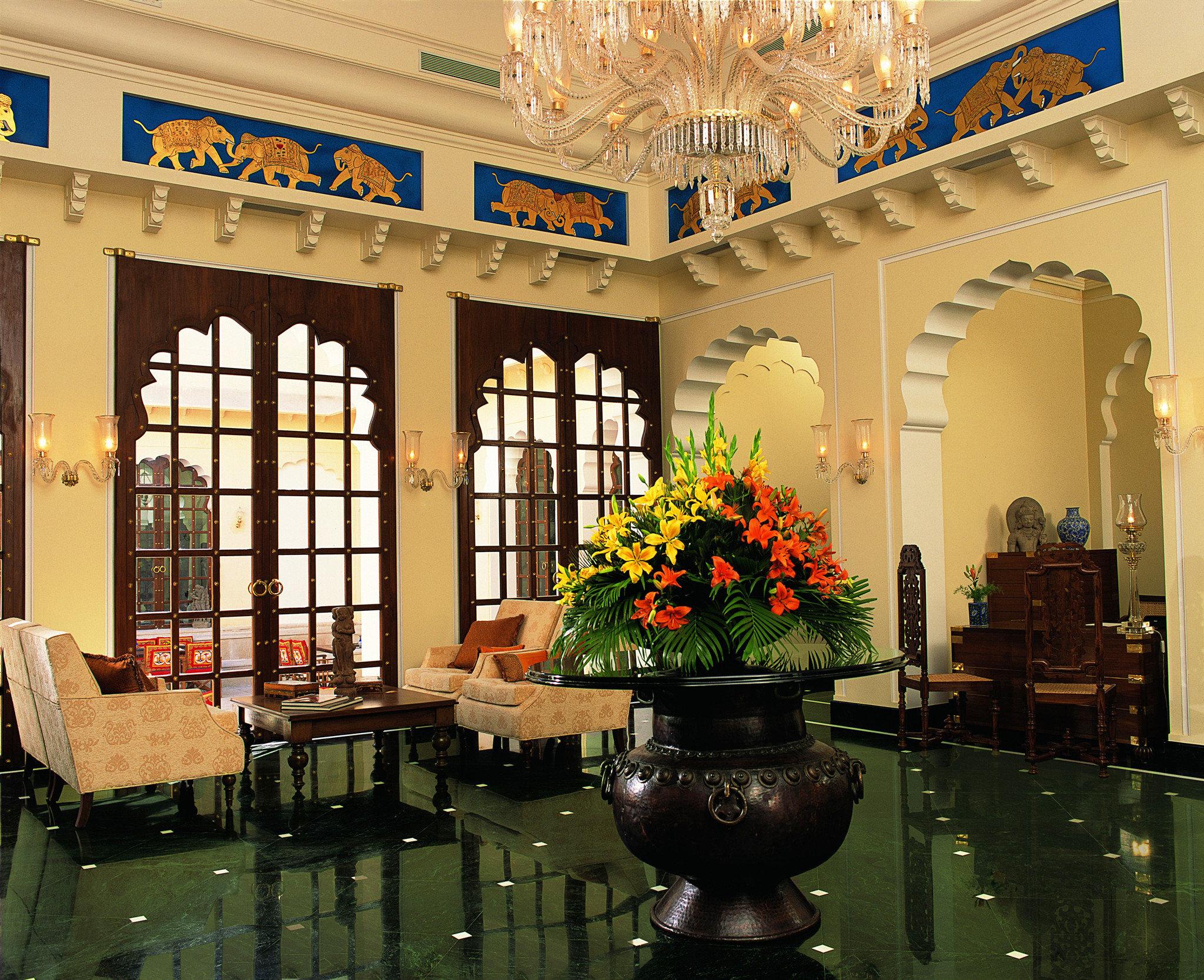 Elegant Lounge Luxury Resort building Lobby home restaurant