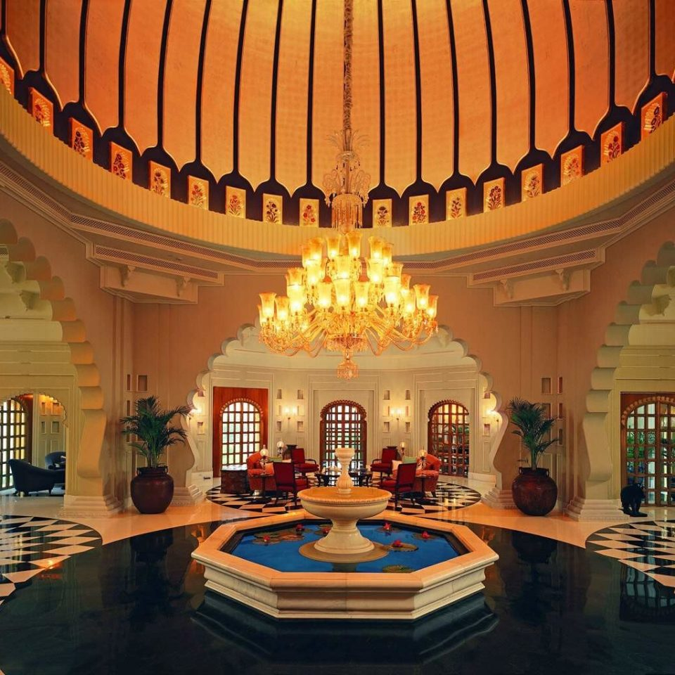 Elegant Lobby Lounge Luxury Resort building function hall palace ballroom place of worship colonnade