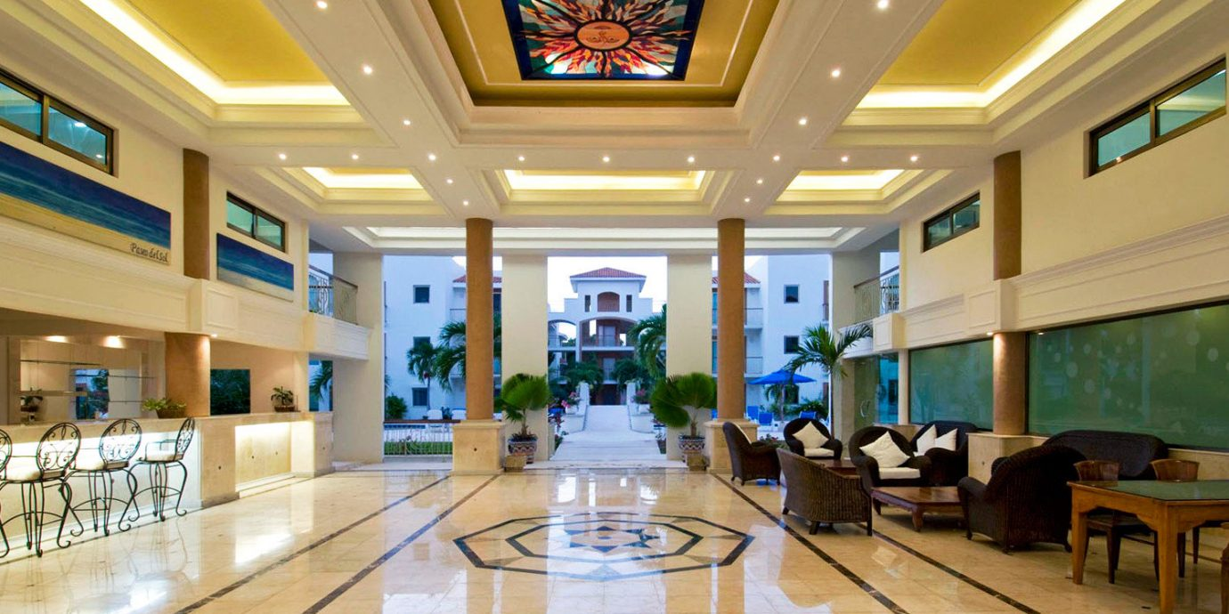 Elegant Lobby Lounge Luxury Modern building shopping mall function hall convention center ballroom conference hall empty