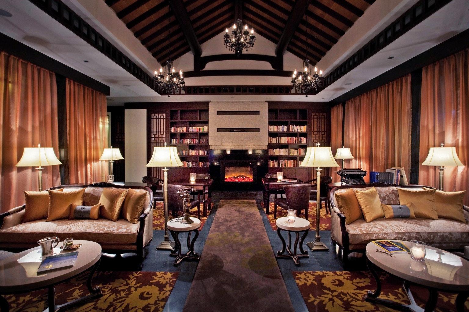 Elegant Lounge Luxury living room property recreation room home billiard room Lobby Suite Resort