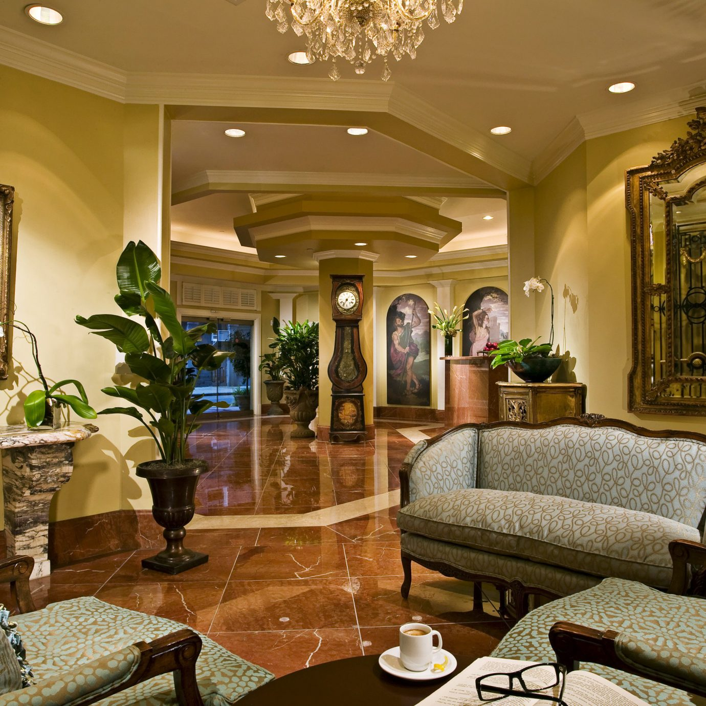 Elegant Lobby Lounge Luxury living room property home mansion condominium Suite