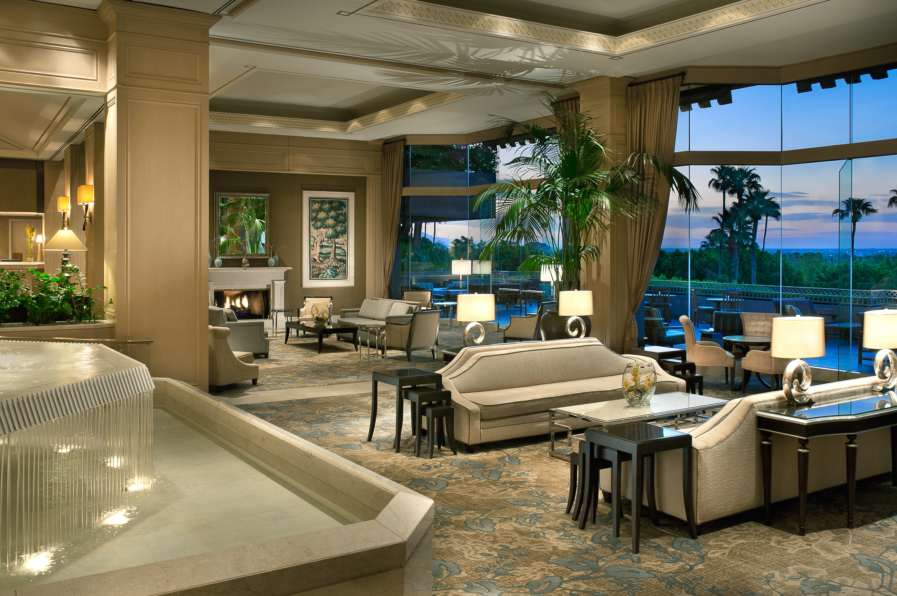 Elegant Lounge Luxury Lobby property home living room condominium house swimming pool mansion Villa Resort Modern