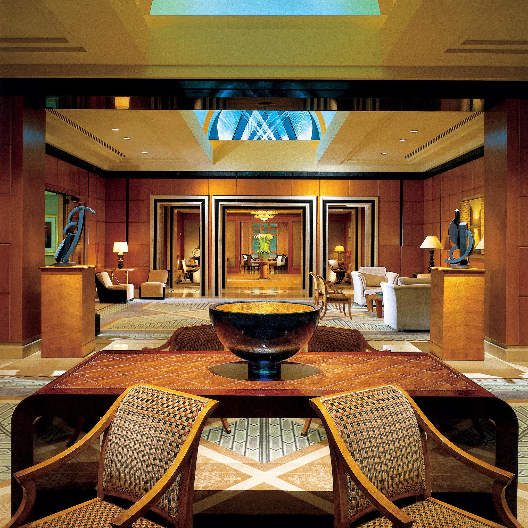 Elegant Lobby Lounge Modern recreation room billiard room Suite mansion home living room function hall Resort