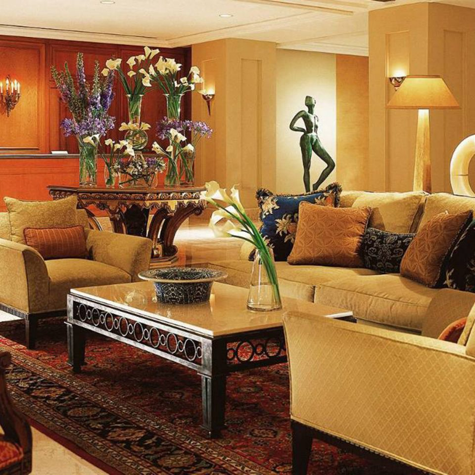 Elegant Lobby Lounge living room property home Suite