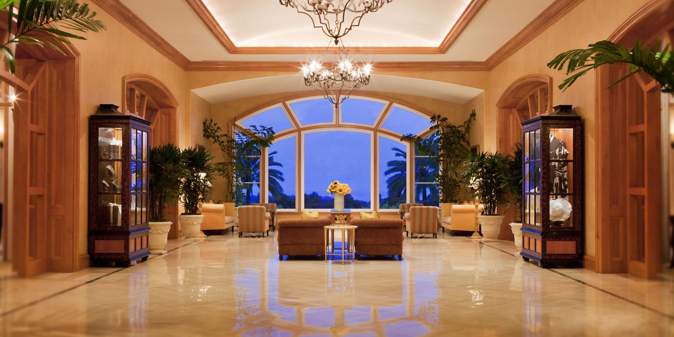 Elegant Lobby Lounge Waterfront building property mansion home function hall ballroom living room flooring hall palace hard