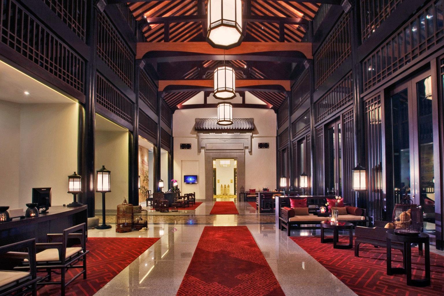 Elegant Lobby Luxury function hall auditorium convention center ballroom conference hall restaurant hall
