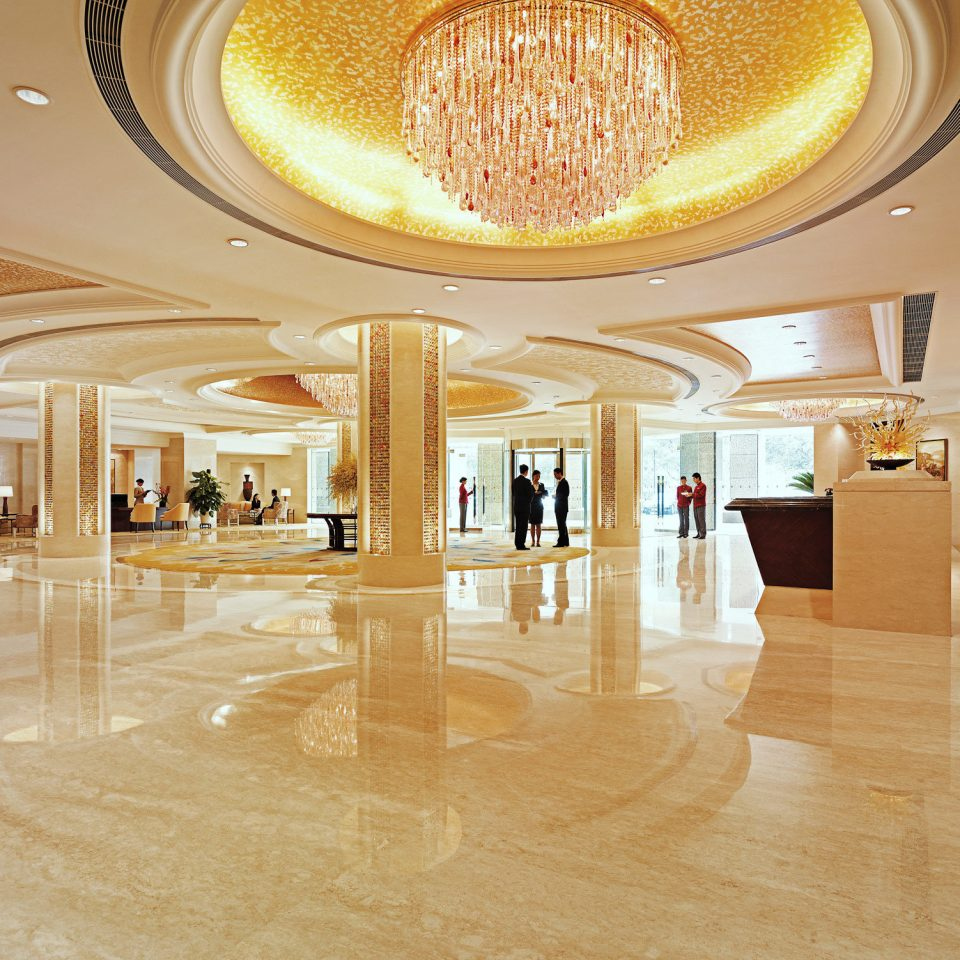 Elegant Lobby Luxury flooring ballroom shopping mall hall tourist attraction