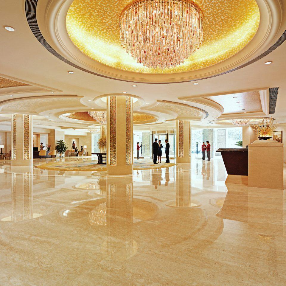 Elegant Lobby Luxury flooring ballroom shopping mall hall tourist attraction