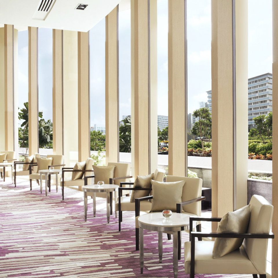 Elegant Scenic views Lobby flooring lighting living room porch