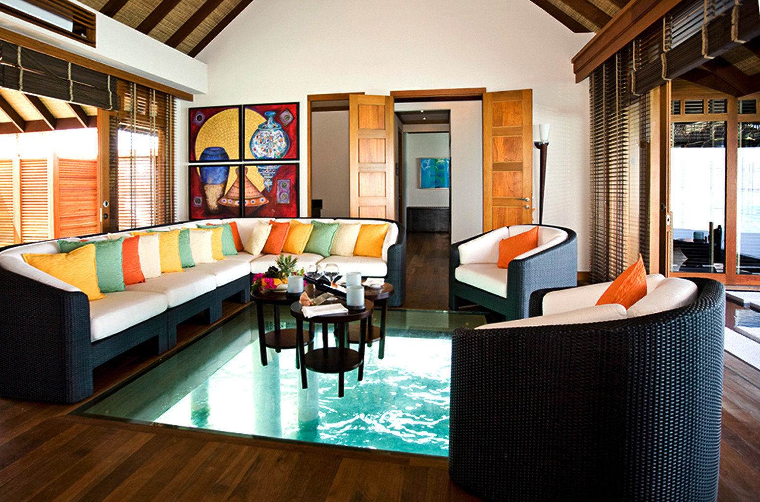 Elegant Lounge Luxury Modern Scenic views property chair living room recreation room home Resort condominium Suite Villa cottage