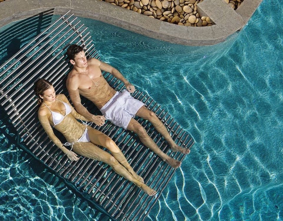 Elegant Lounge Luxury Pool Romantic leisure image swimming pool underwater