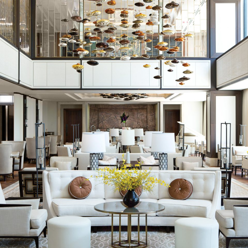 Elegant Luxury property living room condominium white home restaurant