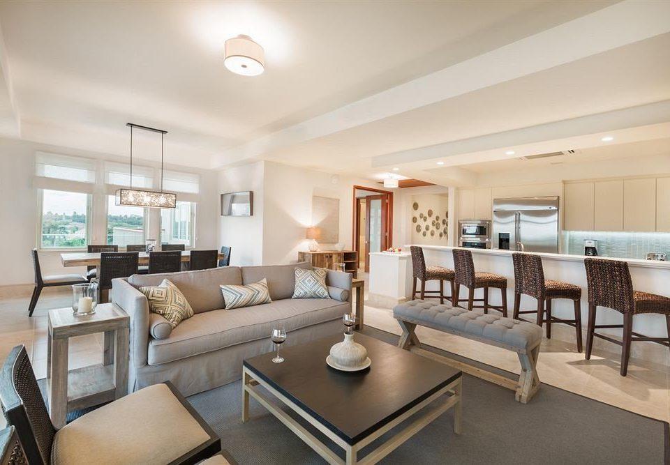 Elegant Luxury Modern Resort Suite sofa property condominium living room home Villa