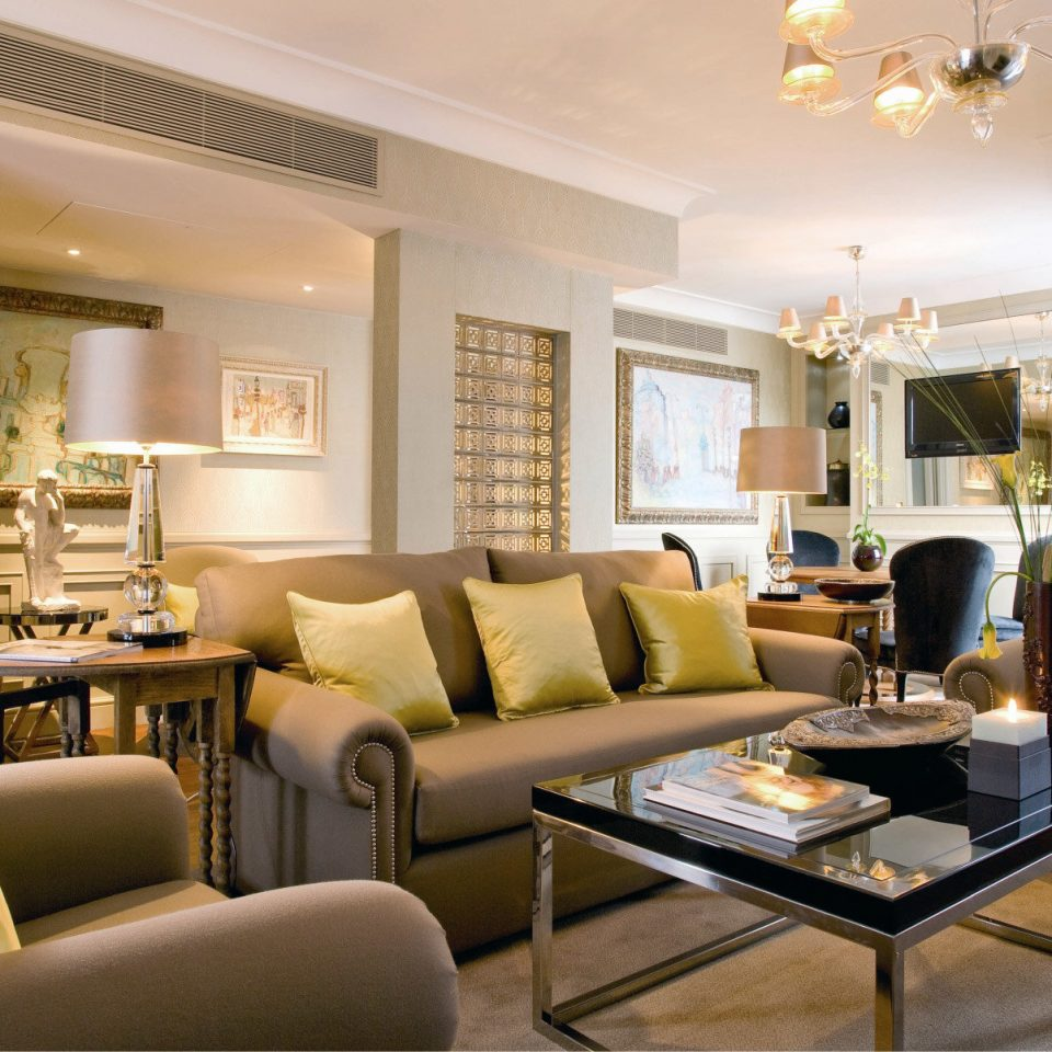 Elegant Luxury Modern Suite sofa living room property condominium home hardwood leather