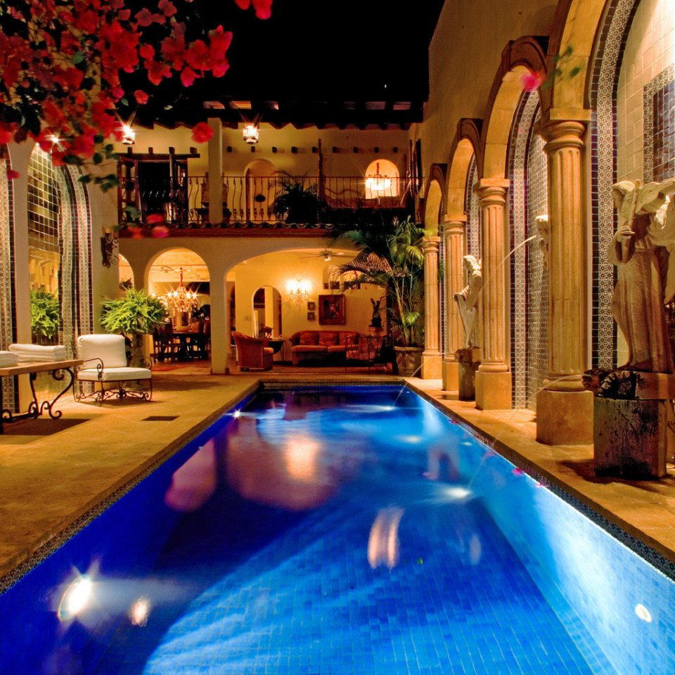Elegant Pool Romance Romantic swimming pool