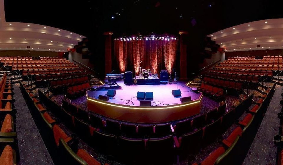 auditorium performing arts stage Entertainment audience theatre musical theatre function hall nightclub arena