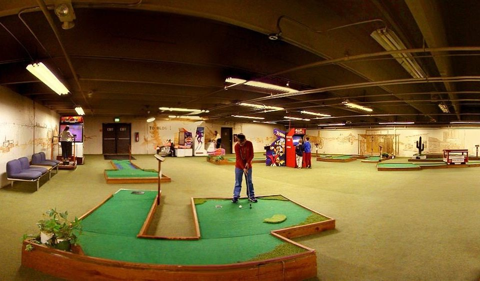 Entertainment Family Golf Play Resort recreation room billiard room games Sport cue sports sports indoor games and sports jumping