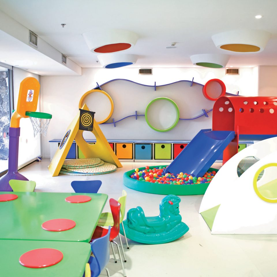 Entertainment Family Play leisure kindergarten classroom illustration mural toy Playground
