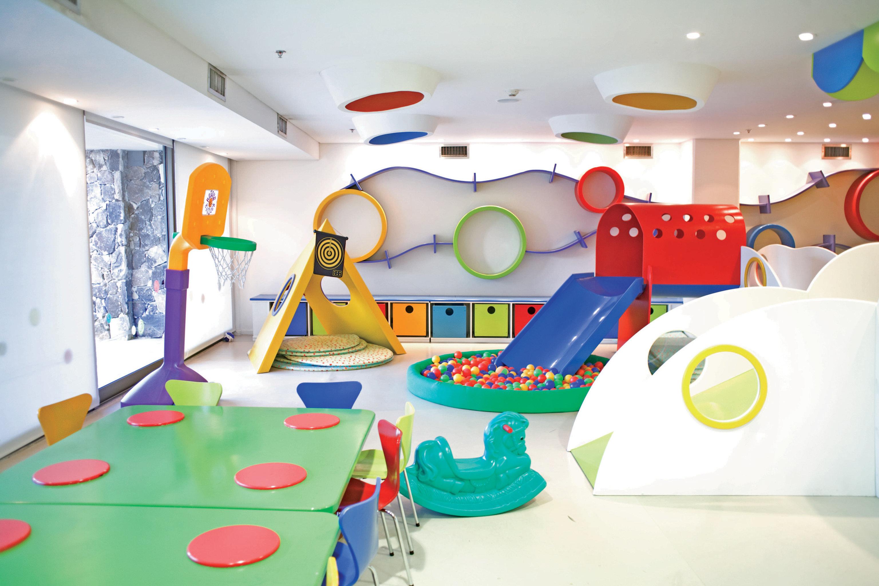 Entertainment Family Play leisure kindergarten classroom illustration mural toy Playground