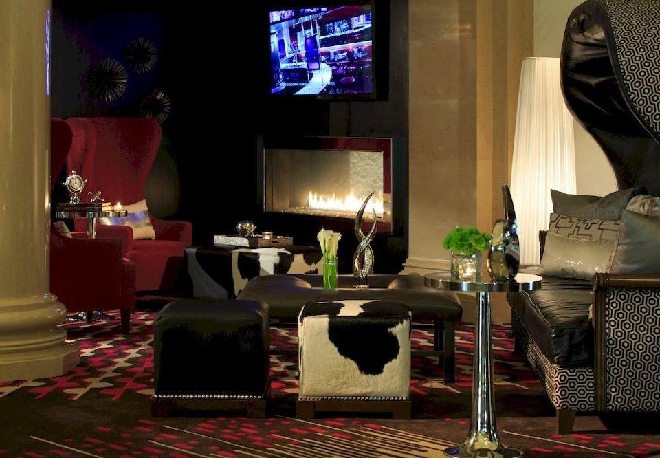 Entertainment Fireplace Lounge Resort screenshot restaurant set