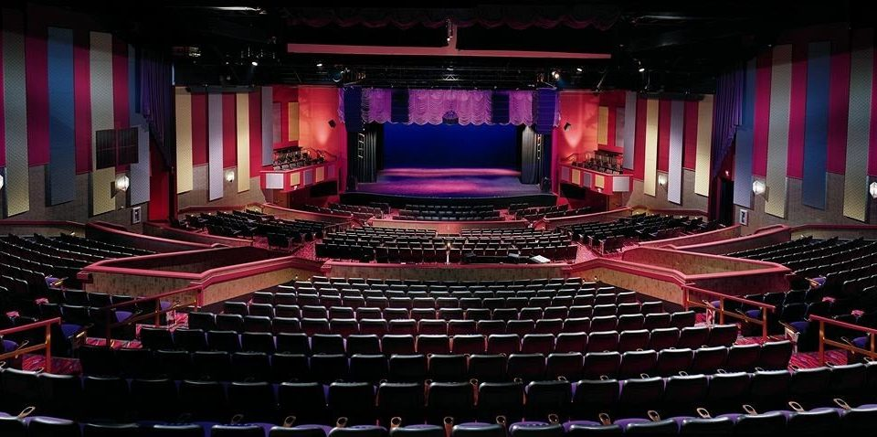 Nightlife Party Play auditorium performing arts stage movie theater Entertainment audience theatre musical theatre music venue hall nightclub scenographer function hall