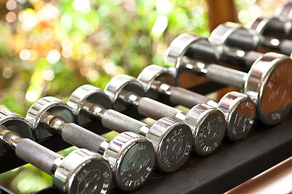 gym exercise equipment metal