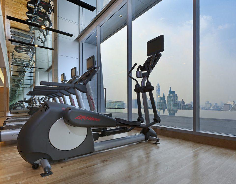 structure gym sport venue exercise machine