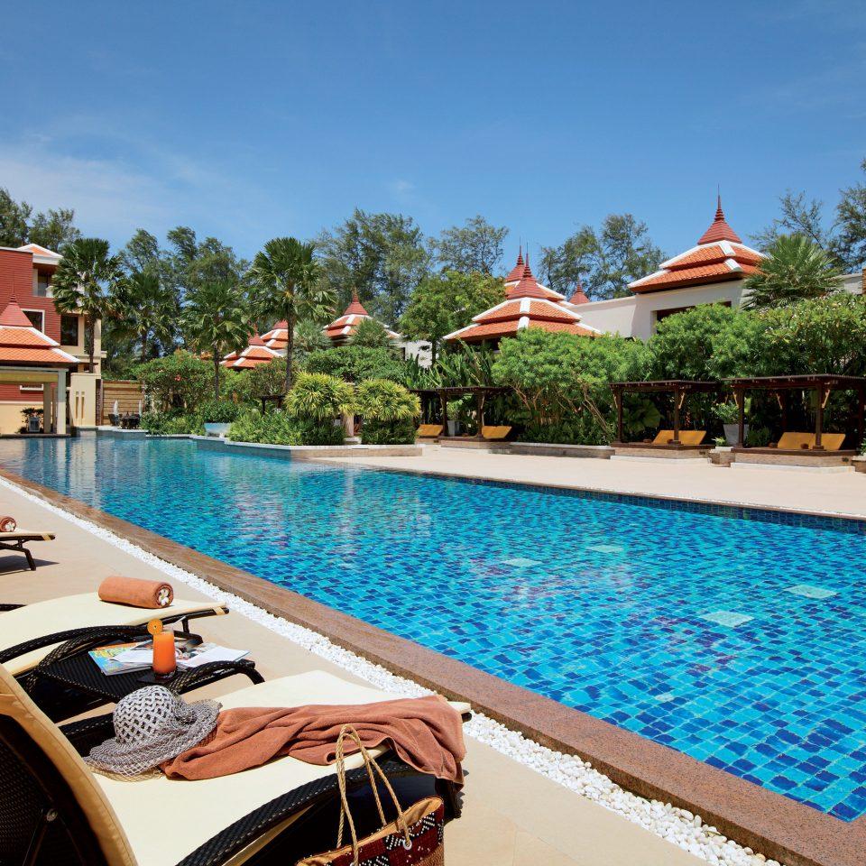 Exterior Family Outdoors Play Pool Resort tree sky leisure swimming pool property Villa condominium resort town