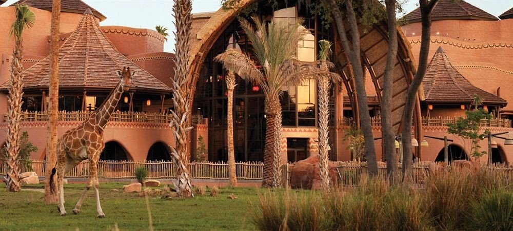 Exterior Family Resort grass building Village arch colonnade