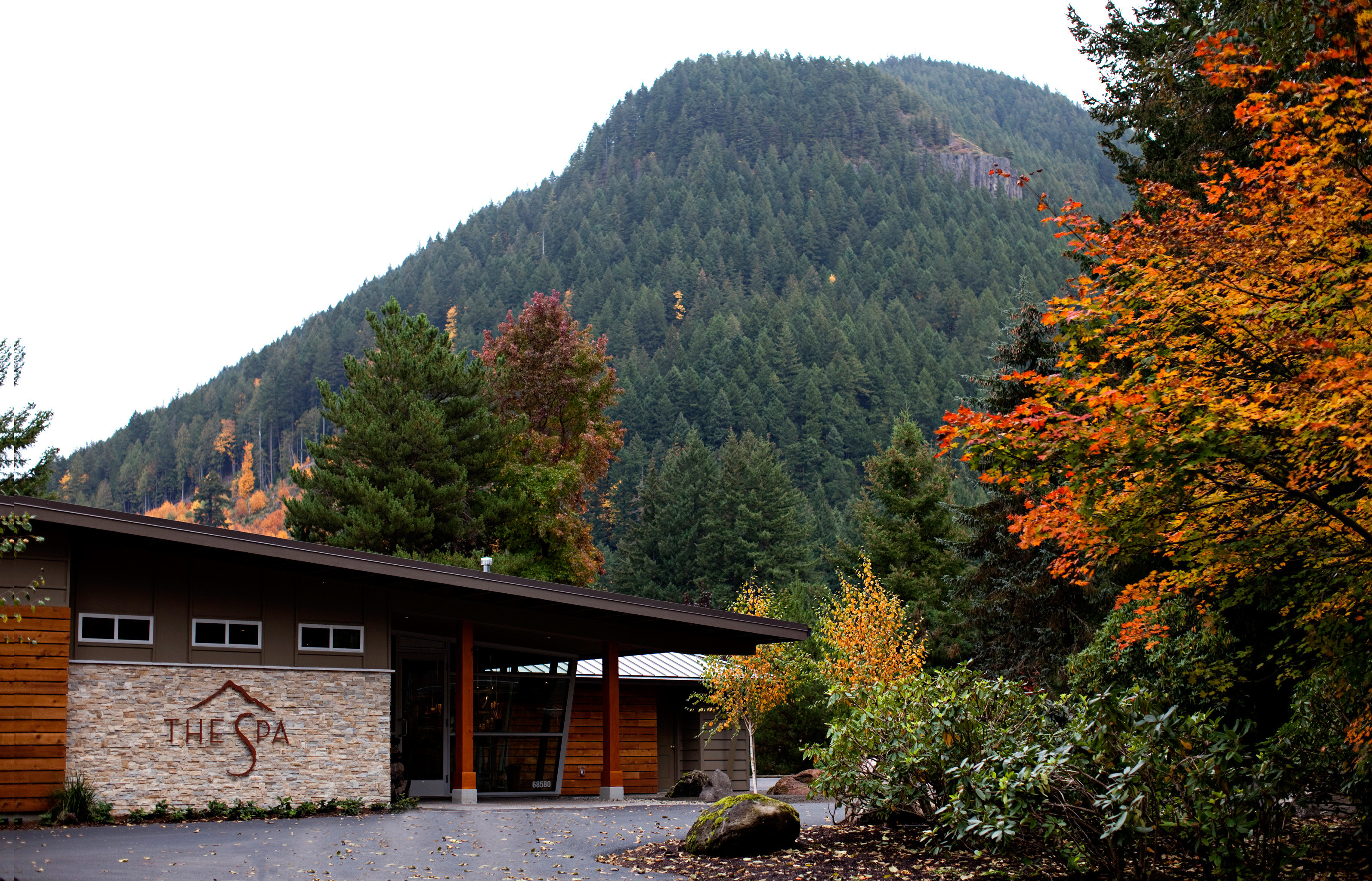 Exterior Forest Grounds Mountains Natural wonders Nature Outdoor Activities Outdoors Resort Rustic Scenic views tree mountainous landforms mountain season house autumn leaf mountain range surrounded
