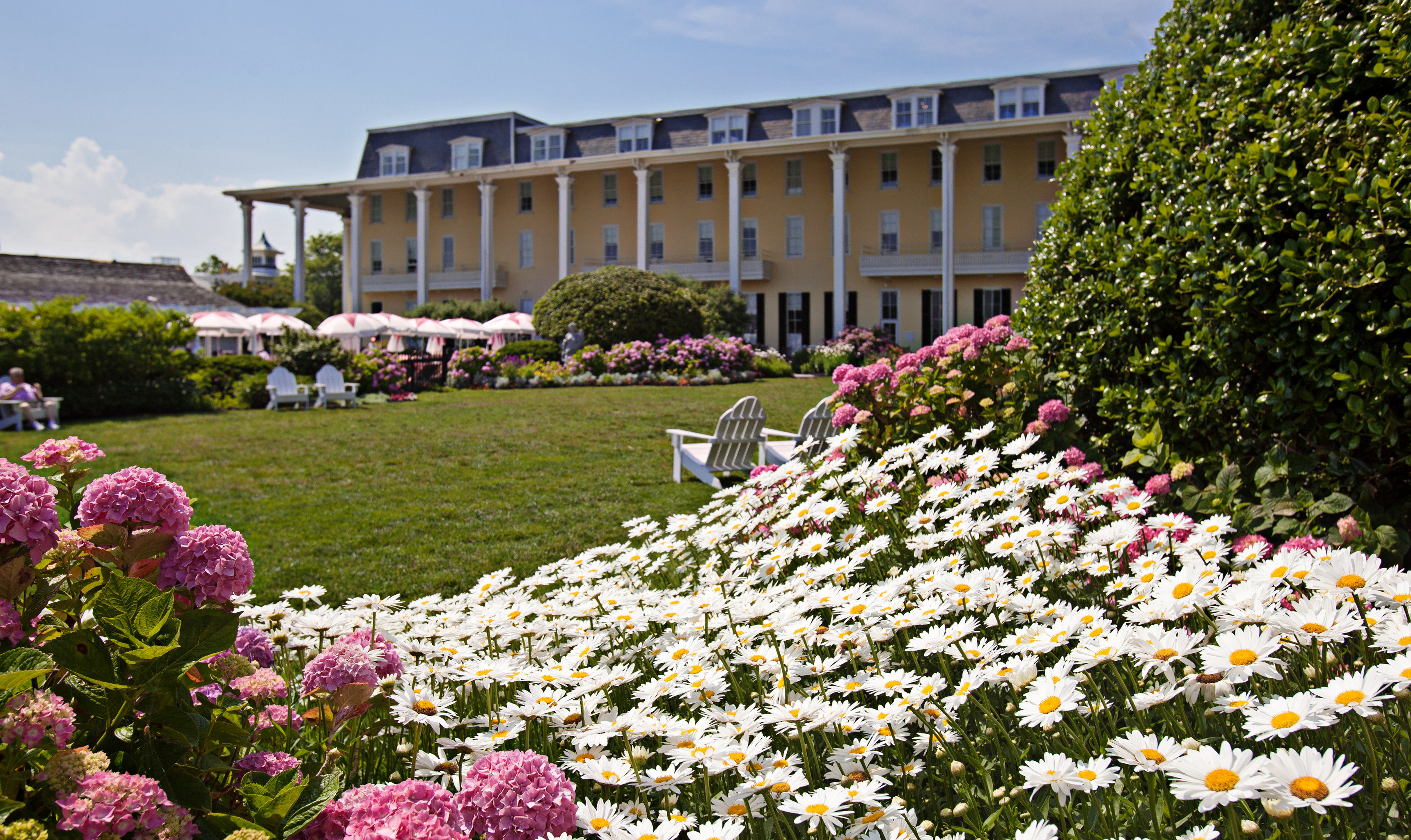 Exterior Garden Grounds Historic Hotels flower grass flora plant botany floristry lawn botanical garden park crowd