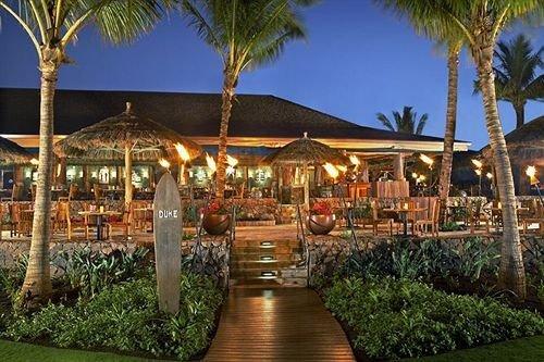 Exterior Resort tree sky palm plant eco hotel restaurant Garden lined