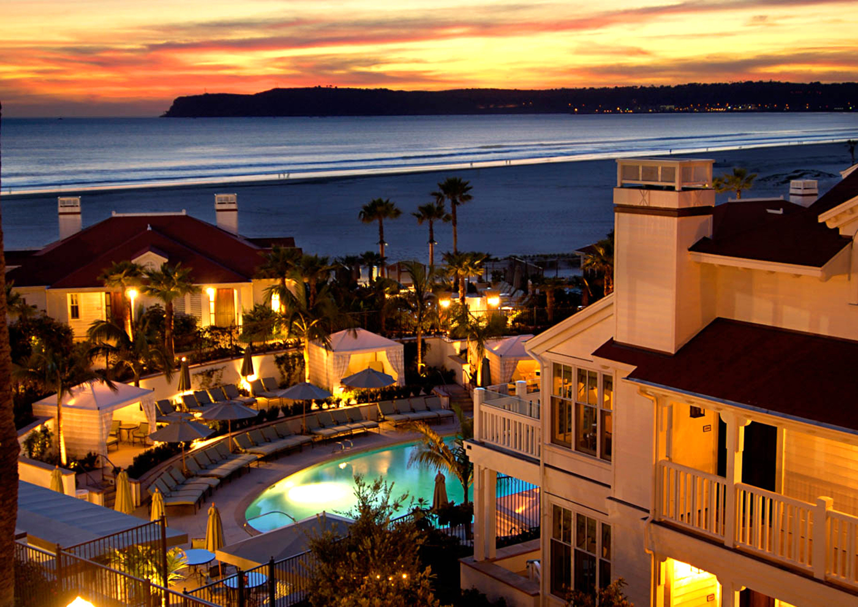 Exterior Grounds Ocean Patio Pool Romance Sunset Waterfront night evening Resort dusk