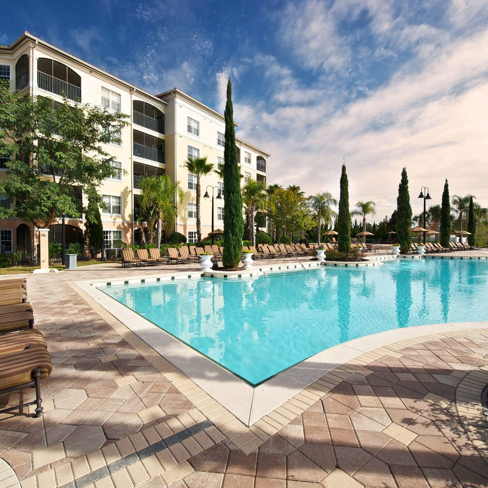 Exterior Hip Luxury Modern Patio Pool Romantic building sky swimming pool property leisure condominium Resort home backyard Villa mansion