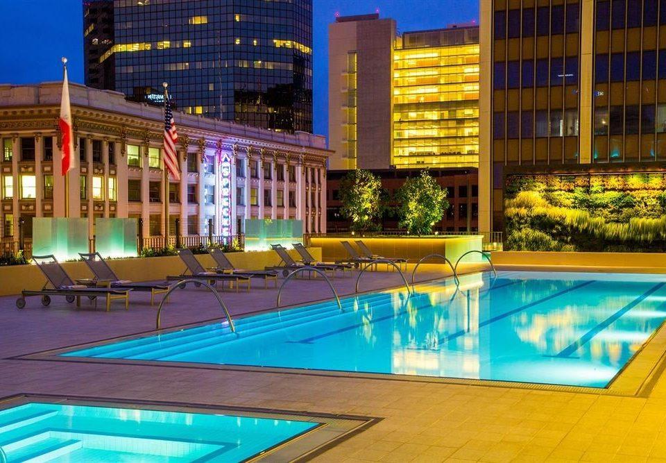 Exterior Hot tub/Jacuzzi Lounge Pool swimming pool leisure property Resort leisure centre condominium plaza